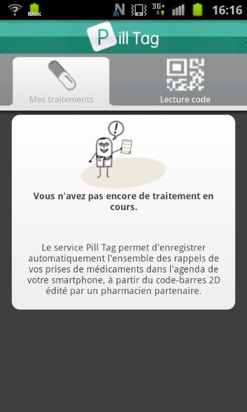 Un aperçu de l'interface de Pill Tag