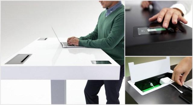 le bureau connect vous ne travaillerez plus jamais. Black Bedroom Furniture Sets. Home Design Ideas