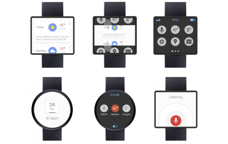 Google Watch concept
