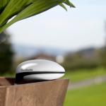 Facile d'avoir la main verte avec le Plant Sensor de Koubachi !