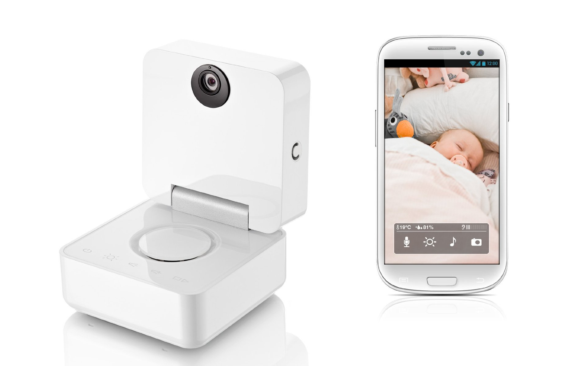 smart baby monitor le babyphone connect par withings tuttiquanti tout sur le quantified. Black Bedroom Furniture Sets. Home Design Ideas