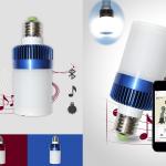 Une ambiance maîtrisée avec l'ampoule connectée haut parleur Lumisky
