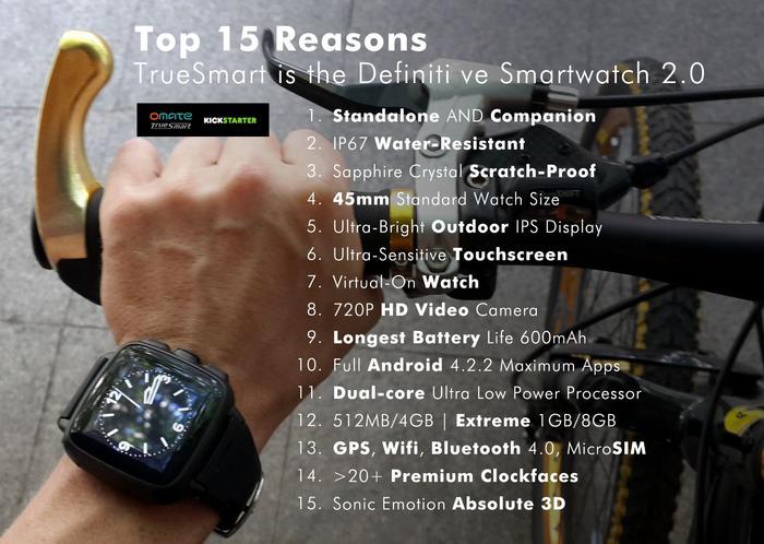 Truesmart meilleure montre